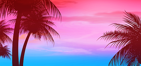 rose red sky summer abstract silhouette