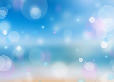 summer blue spot light spot background