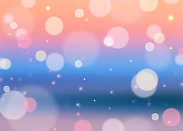 summer polka dot abstract light effect background