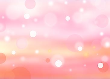 summer polka dot light effect pink background