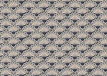 vintage blue paper cut japanese texture