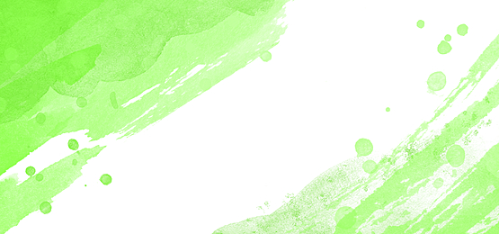 abstract watercolor background with green gradient splashes