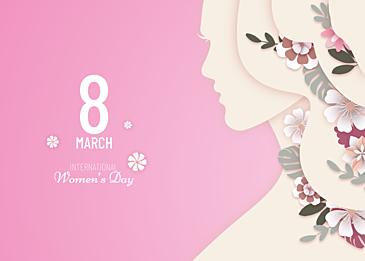 beautiful international womens day background