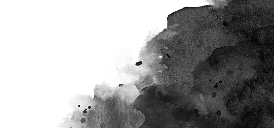 black ink smudge abstract watercolor background