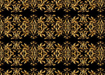 black minimalist style european print seamless background