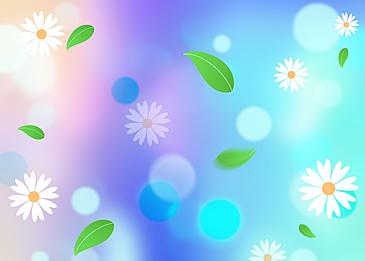blue purple spring petals background