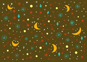 dark stars background