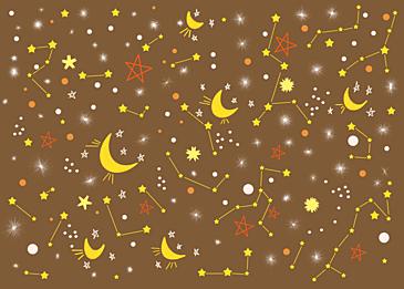dark yellow stars background