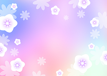 fantasy blue purple flower background