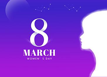 fantasy international womens day background