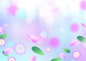 fantasy purple petals background