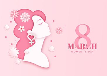 gentle international womens day background