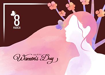 gentle style international womens day background