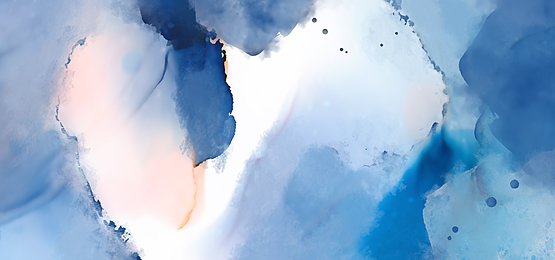 gradient blue and pink abstract watercolor background