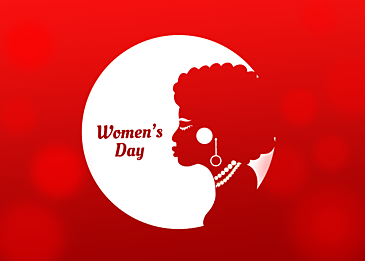 lively international womens day background