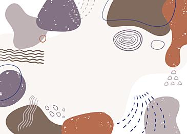 morandi abstract color block geometric background