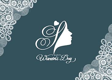 mori style international womens day background