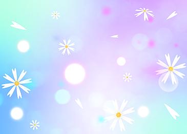 petal decoration creative background