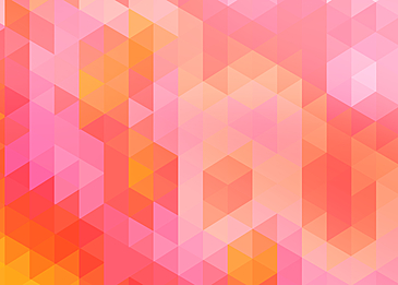 pink abstract geometric gradient background