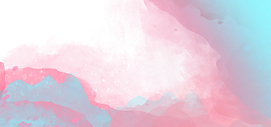 pink and blue smudge gradient abstract watercolor background