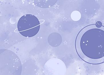 purple gradient watercolor planet background