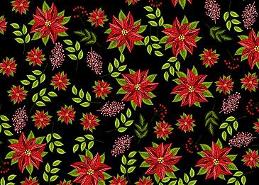 seamless vintage red flower background
