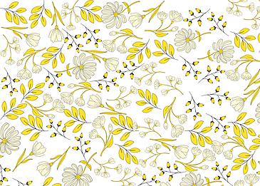 seamless vintage yellow flower background