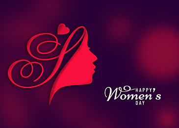 simple international womens day background