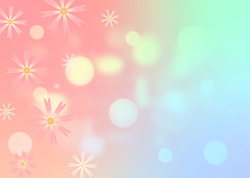 spring flower dream spot background