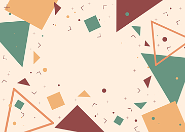 triangle abstract color geometric background