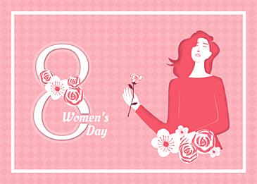 warm international womens day background