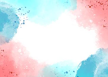 water color block fantasy background