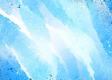 watercolor style blue background