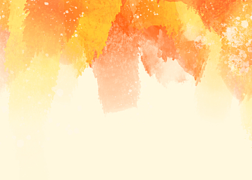 watercolor style warm color background