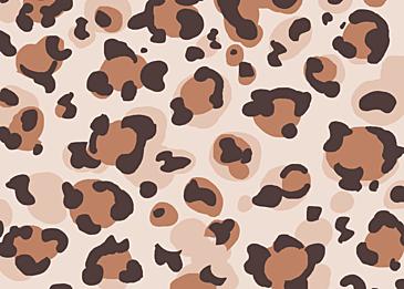 animal polka dot fur print background