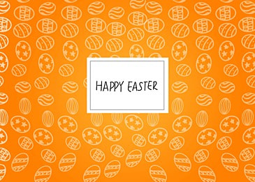 gradient simple easter background