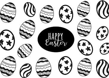 simple egg easter background