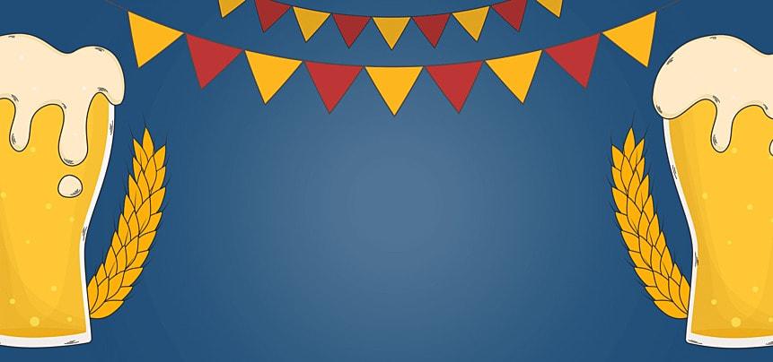 triangular bunting germany oktoberfest background