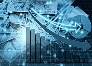 business finance dollar background