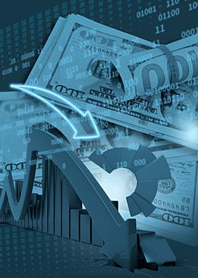 business finance dollar pattern background