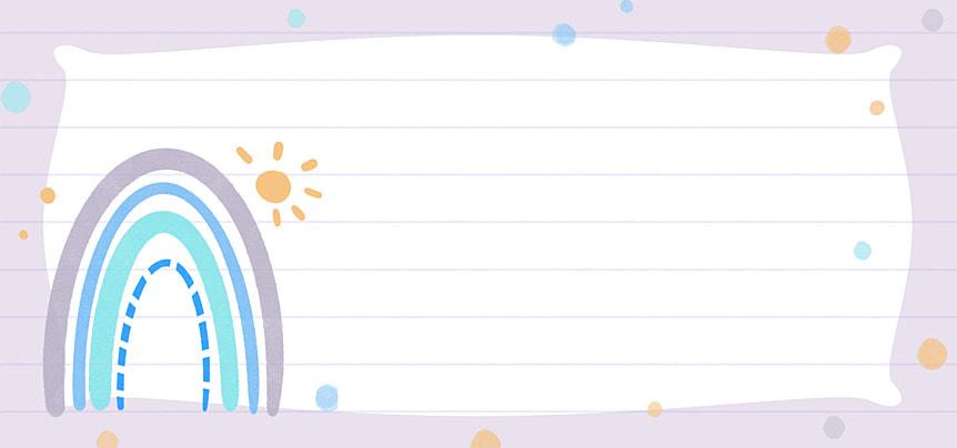 bohemian rainbow blue purple paper background