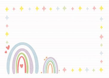 bohemian rainbow color decorative background