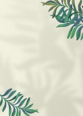 flower shadow green plant decorative background