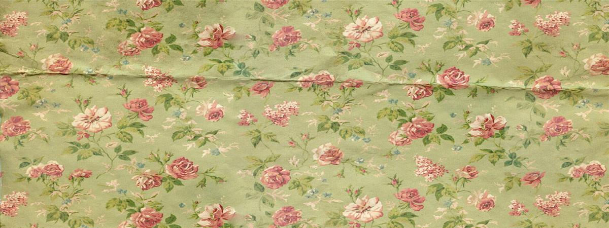 Cotton Floral Wallpaper Pattern