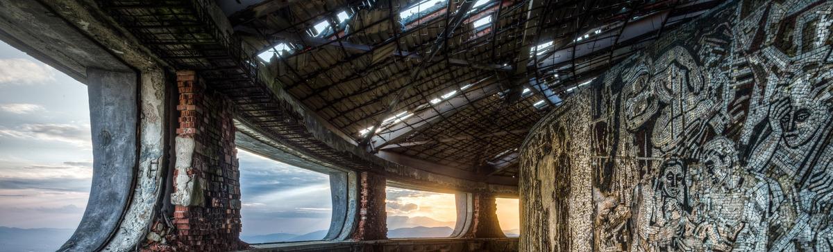 Arquitectura del edificio de estructura de acero de fondo Vidrio ...