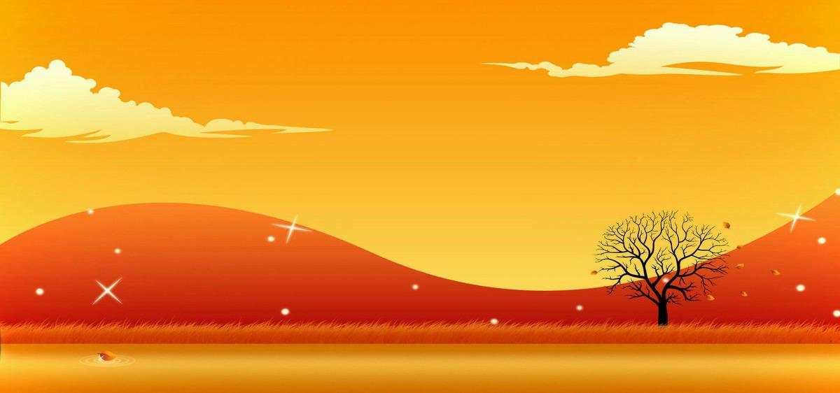 Contesto grafico taobao i cartoni animati sfondo arancione le nuvole