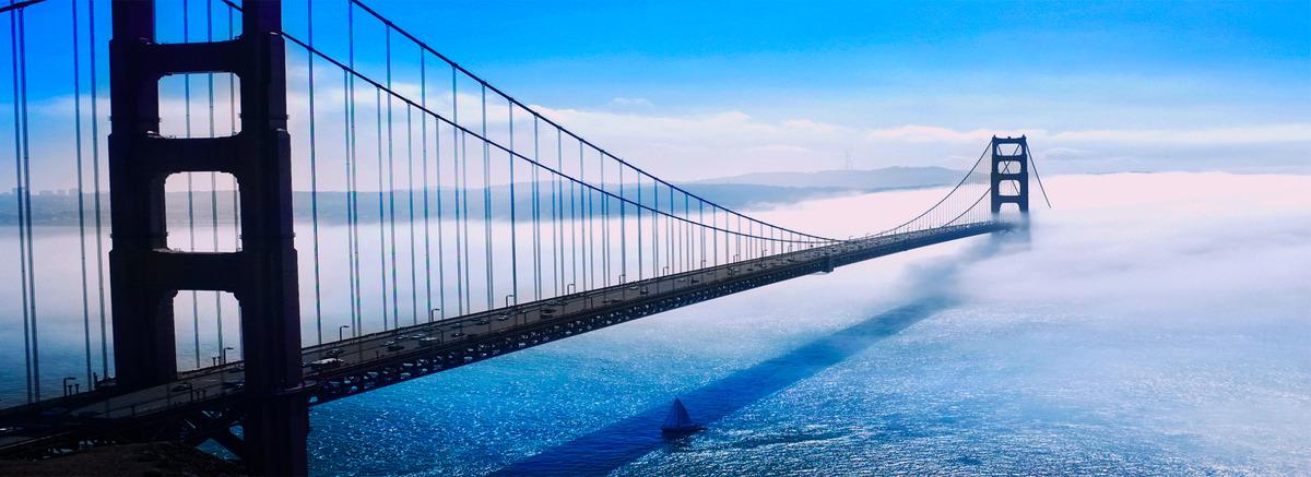 Muelle de apoyo de dispositivo de puente de fondo Puente Colgante ...
