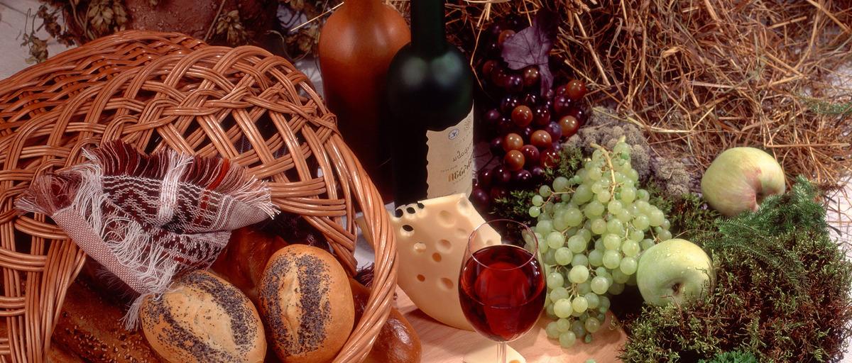 Fruit Basket Food Seasonal Decoration Edible Fruit Fruits Apple