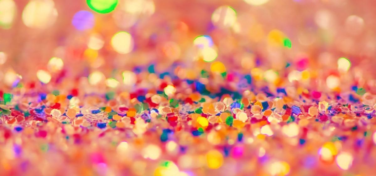 Fondo De Fiesta Diseño Decoracion Confeti Arte Patrón: Libro De Confeti Colorido Pattern Background Celebración