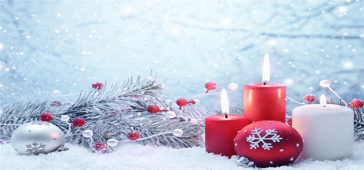 Romantische schneeflocke Weihnachten poster hintergrund Der Winter ...